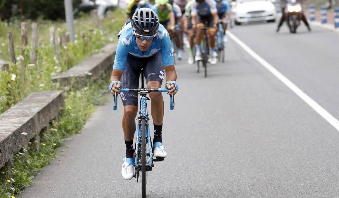 Jorge Arcas, ciclismo de voluntad