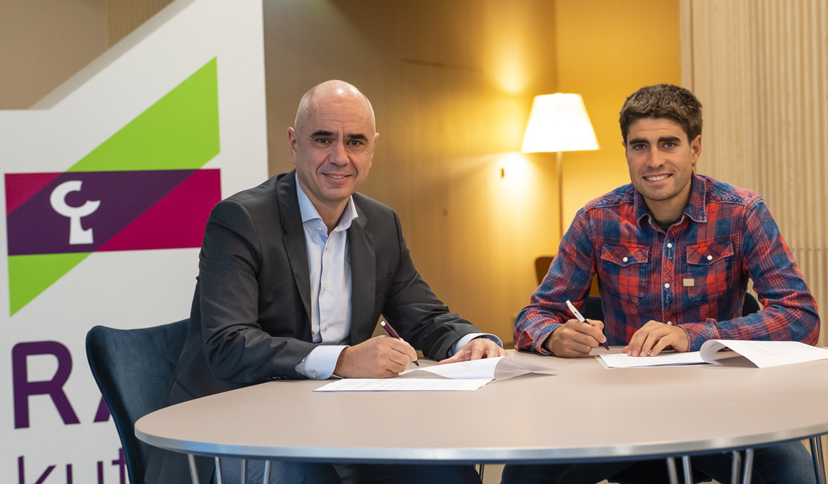 Acuerdo entre Laboral Kutxa y la Fundación Euskadi para impulsar el ciclismo de base