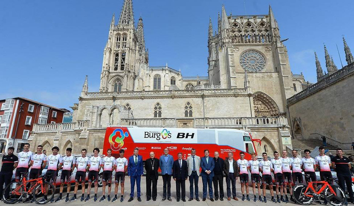 La UCI suspende durante 21 días al Burgos-BH por sus casos de dopaje