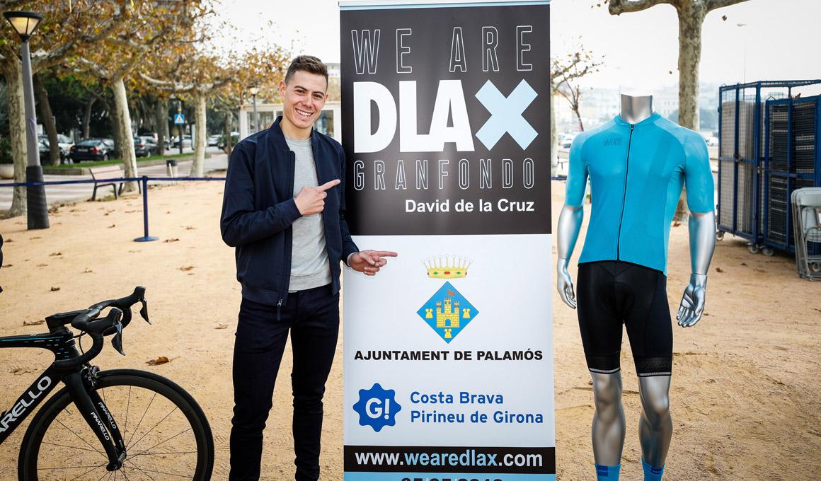 Presentada en Palamós la Wearedlax Gran Fondo David de la Cruz