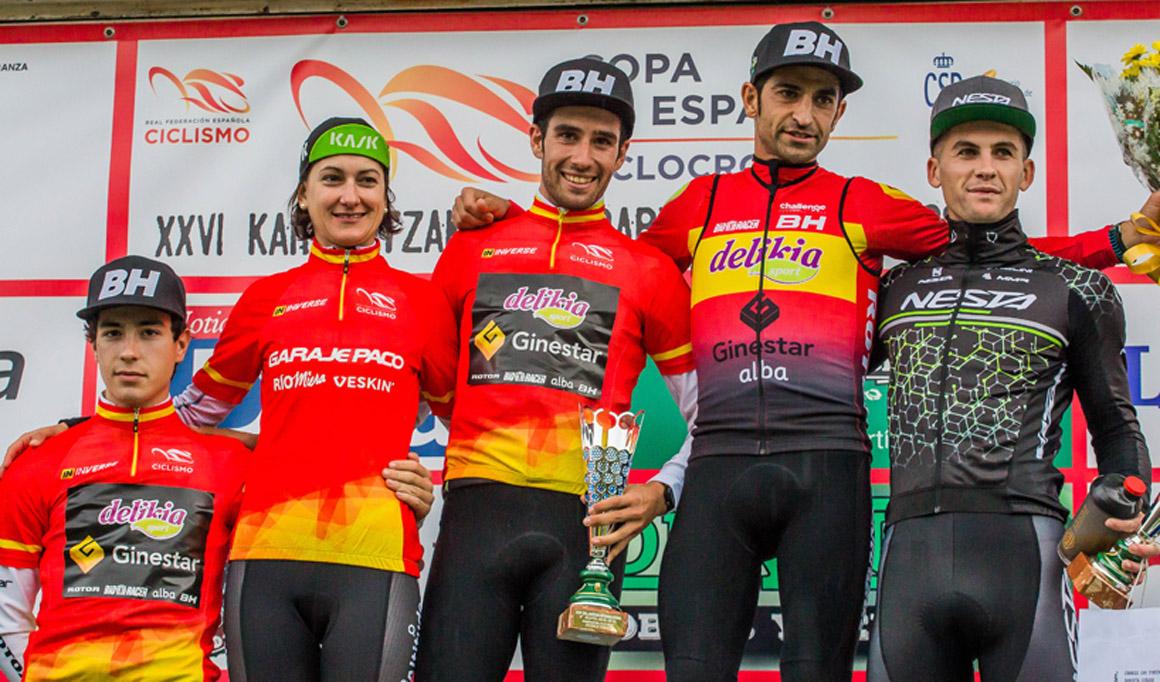 Aida Nuño y Felipe Orts, campeones de la Copa de España de Ciclocross 2018