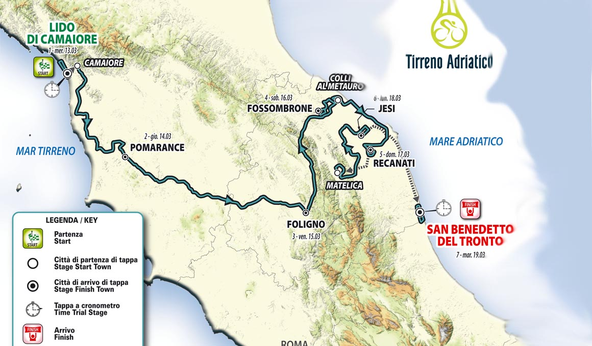 La Tirreno Adriático 2019