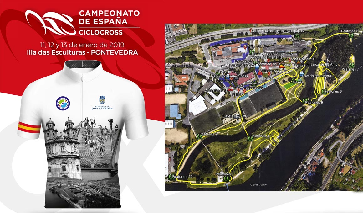 Programa y recorrido del Campeonato de España de Ciclocross 2019