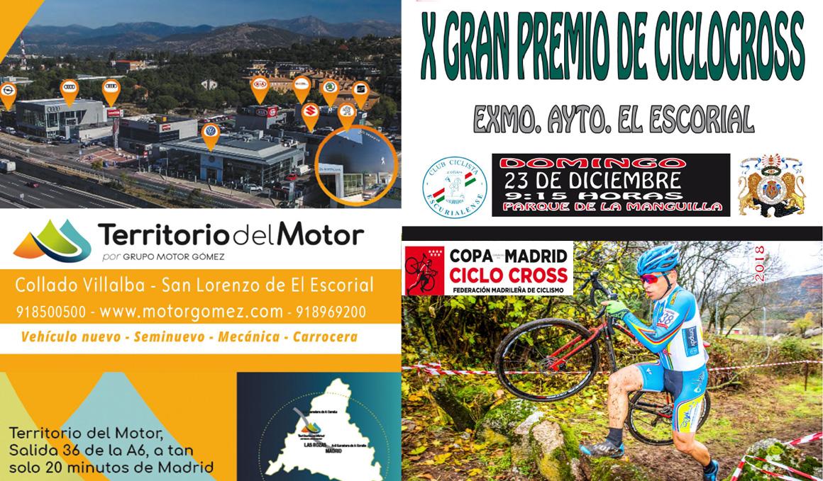 Fin a la Copa de Madrid de Ciclocross 2018