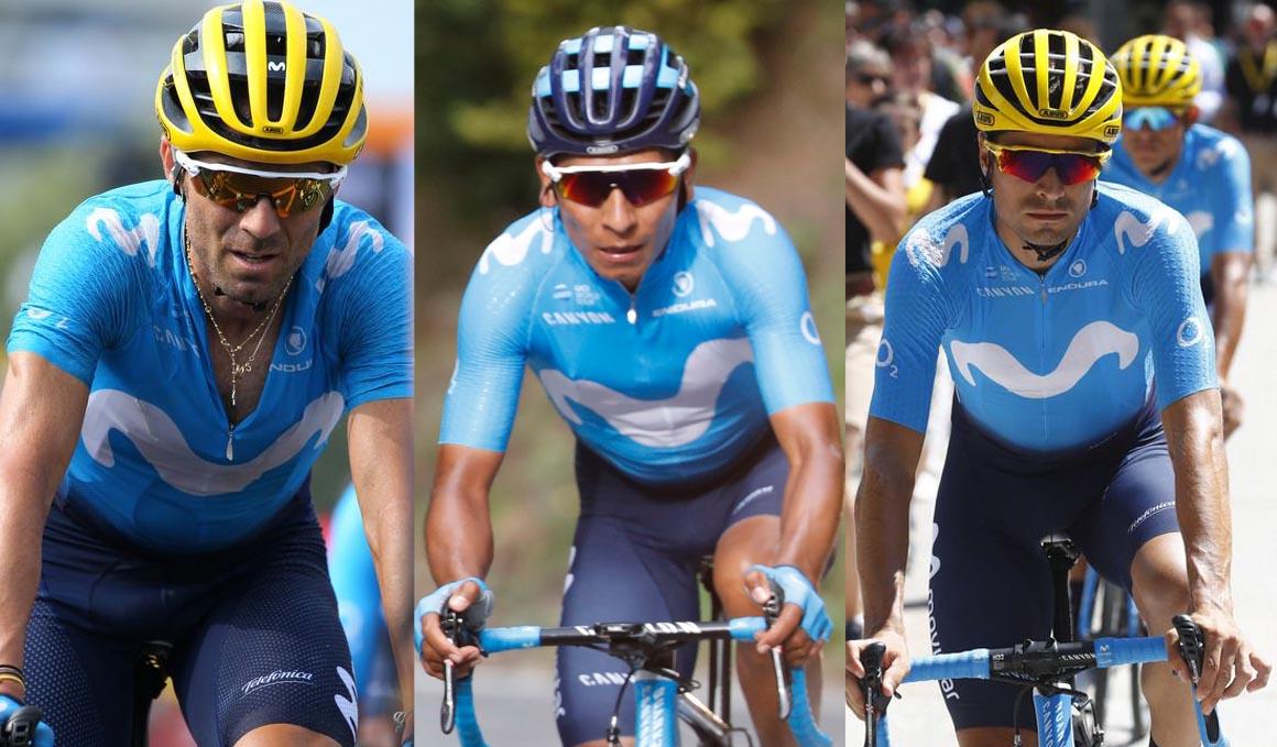 Valverde, Quintana y Landa con las Tres Grandes asignadas