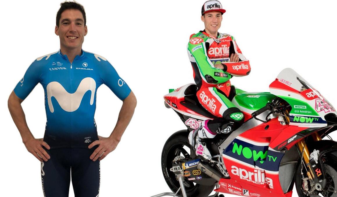 Aleix Espargaró deja Moto GP por el ciclismo profesional: de Aprilia a Movistar