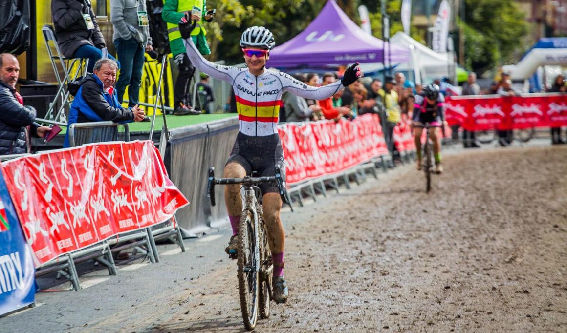 Aida Nuño se cita con la historia del ciclocross español en Pontevedra