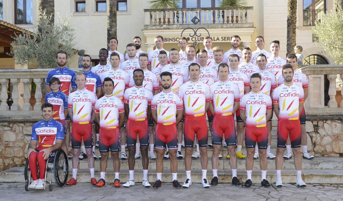 El Team Cofidis 2019 se presenta mañana en Valencia