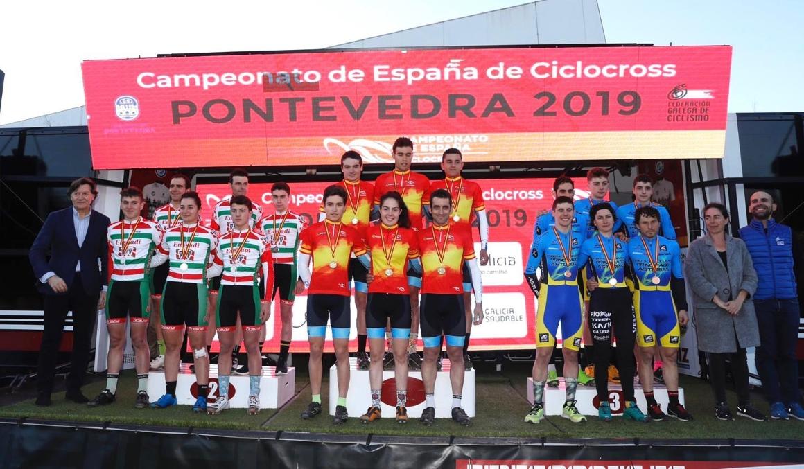 Galicia, campeona de España de Team Relay