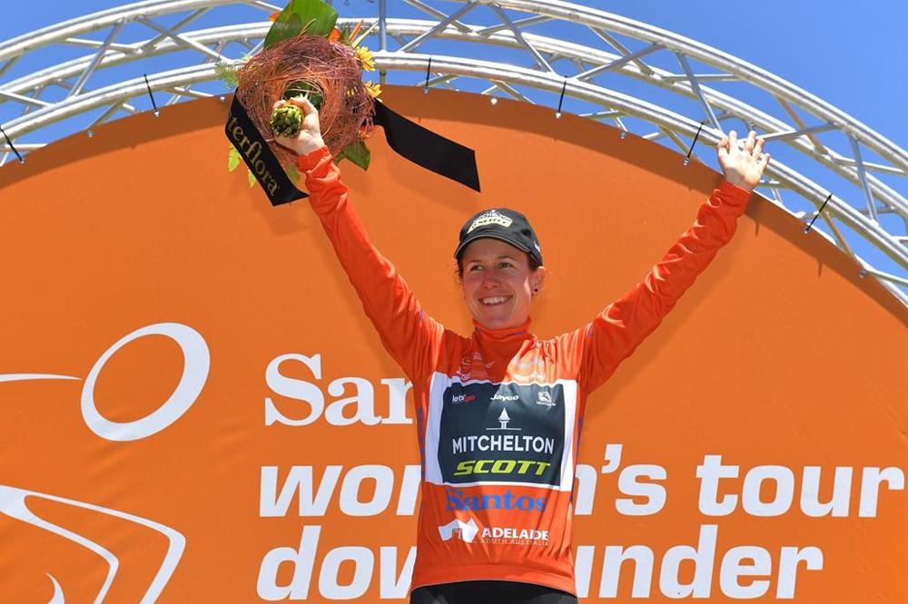 Amanda Spratt, tricampeona del Tour Down Under