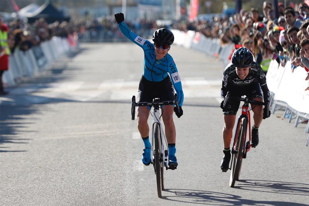 Aida Nuño y Felipe Orts, campeones de España de Ciclocross