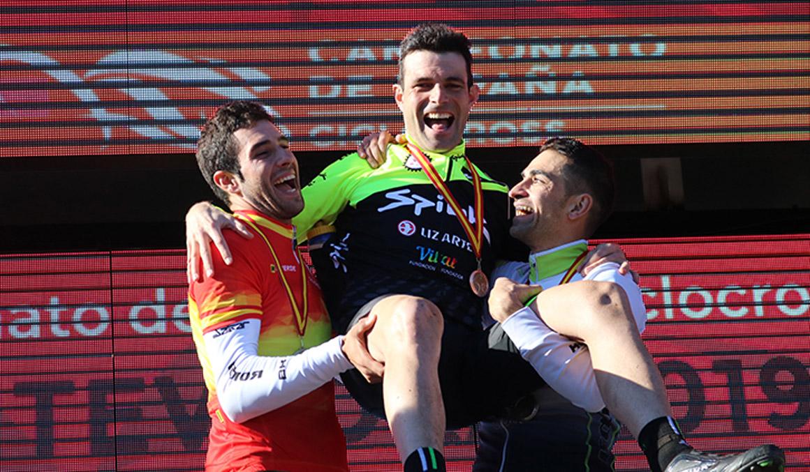 Larrinaga se despide de los Campeonatos de España con un bronce