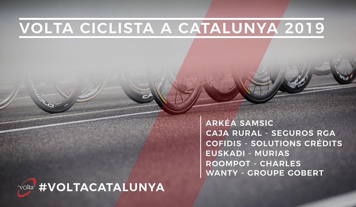La Volta a Catalunya anuncia seis equipos invitados para su 99ª edición