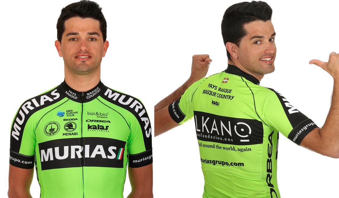Euskadi-Murias presenta su maillot para 2019
