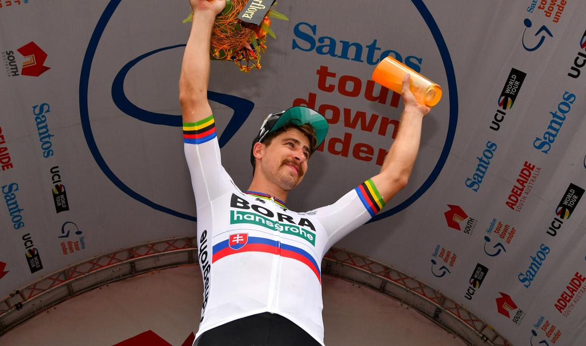 Sagan bate a Luis León Sánchez en un cerrado esprint