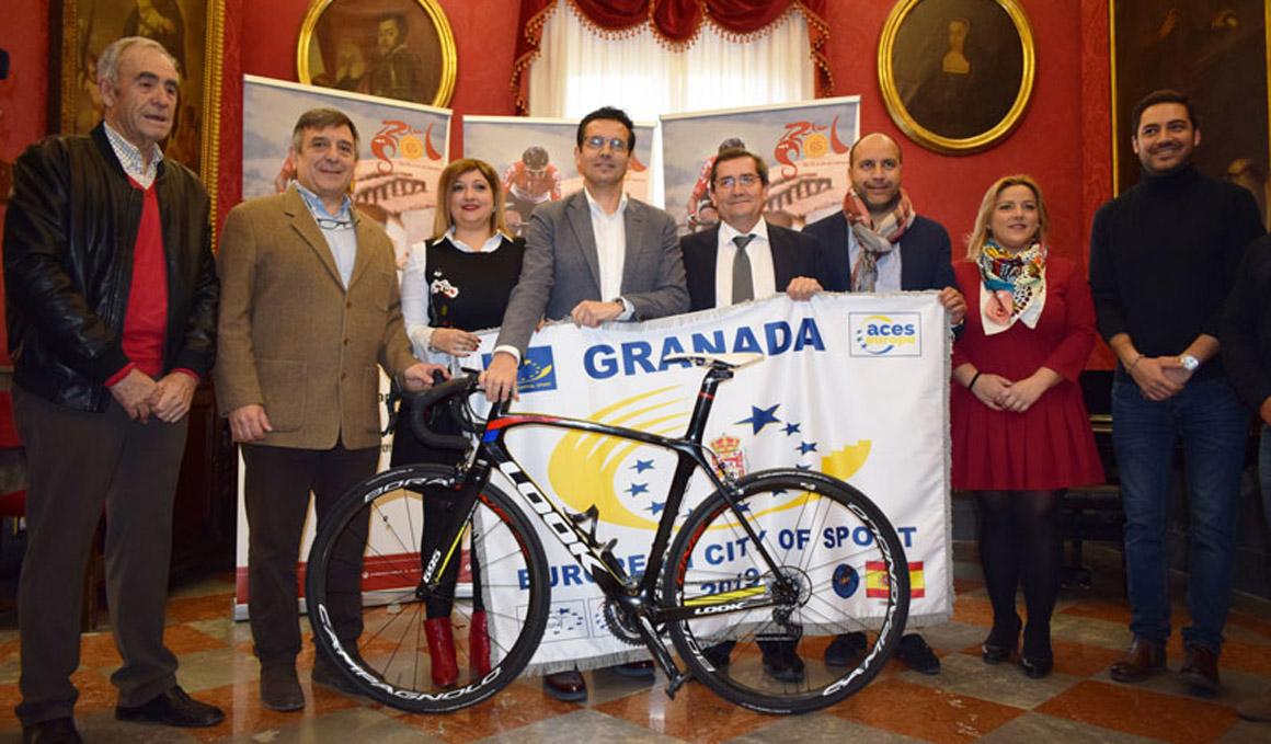 Granada acogerá la etapa reina de la Vuelta a Andalucía
