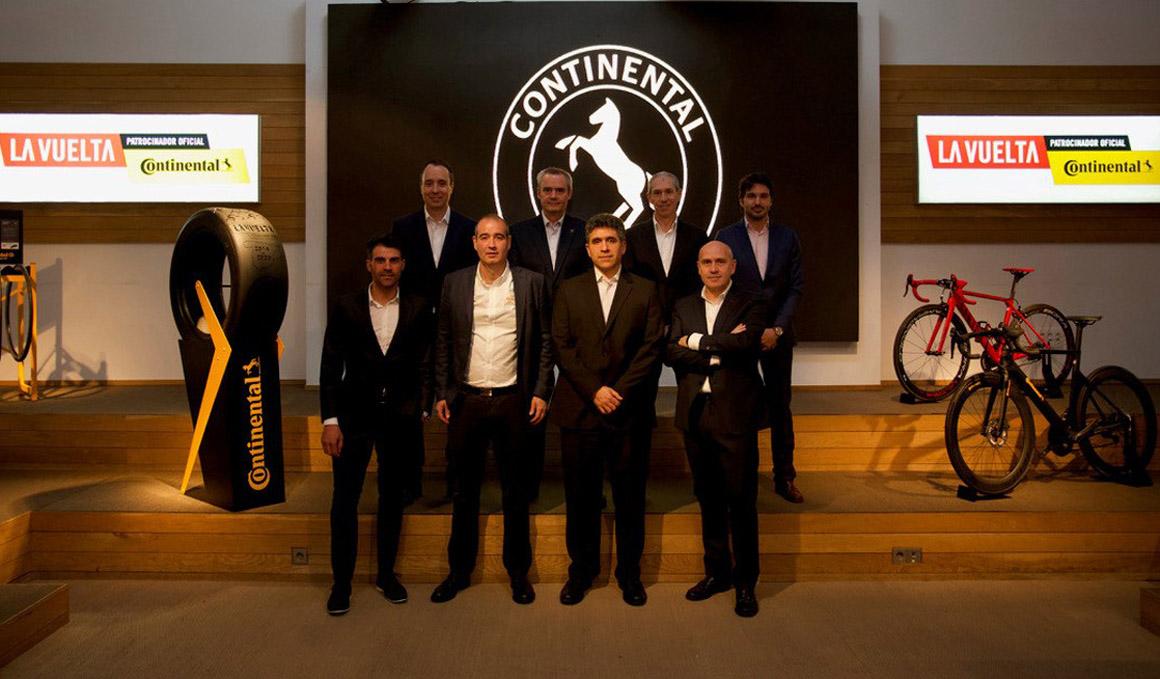 Continental patrocinará el premio de la combatividad de La Vuelta