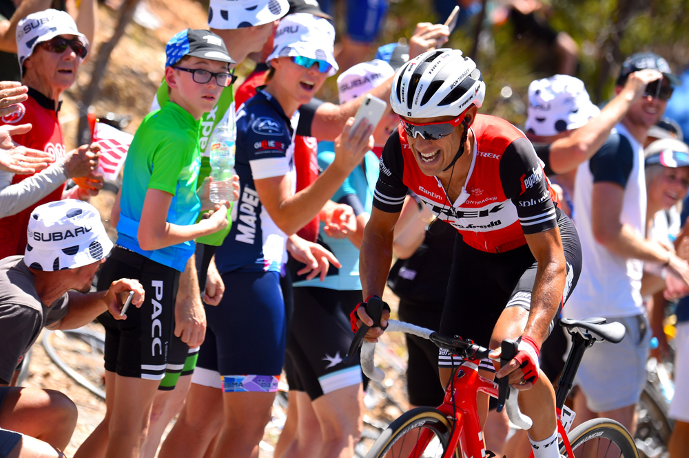 Willunga Hill, cima Richie Porte; Daryl Impey revalida el Tour Down Under