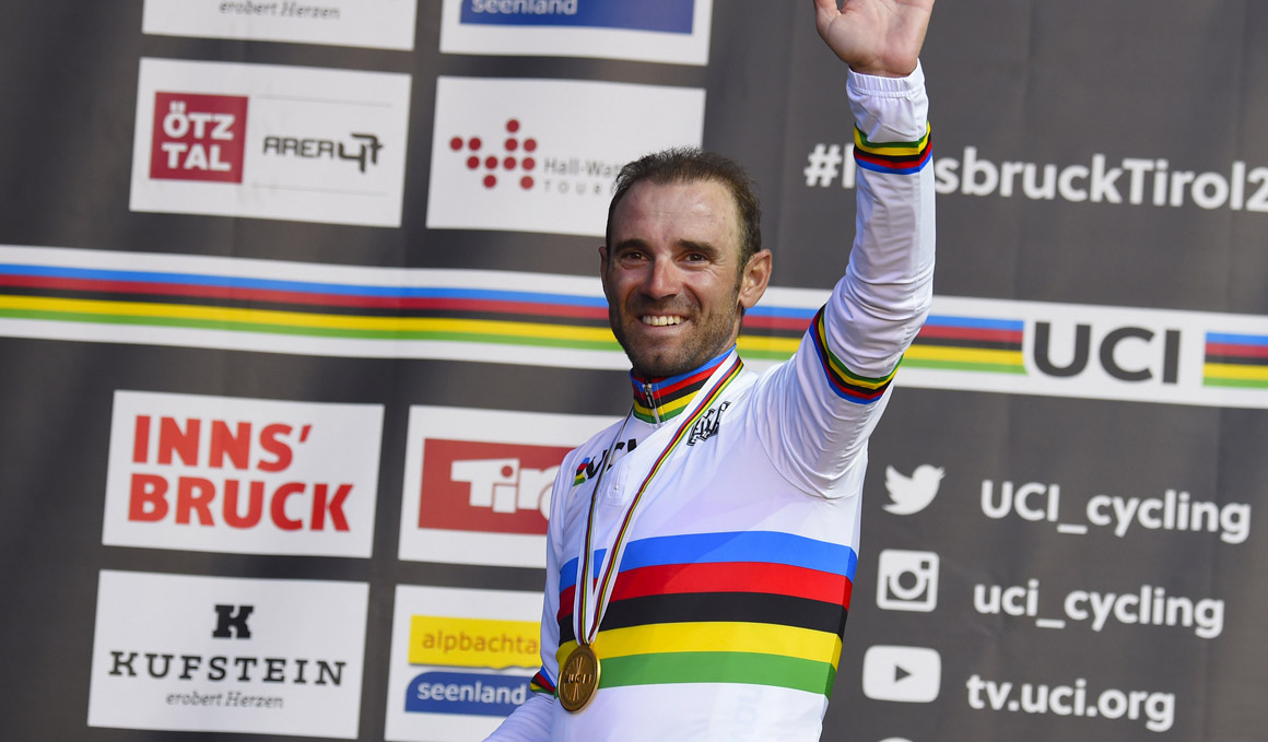 Valverde sigue al frente del UCI World Ranking