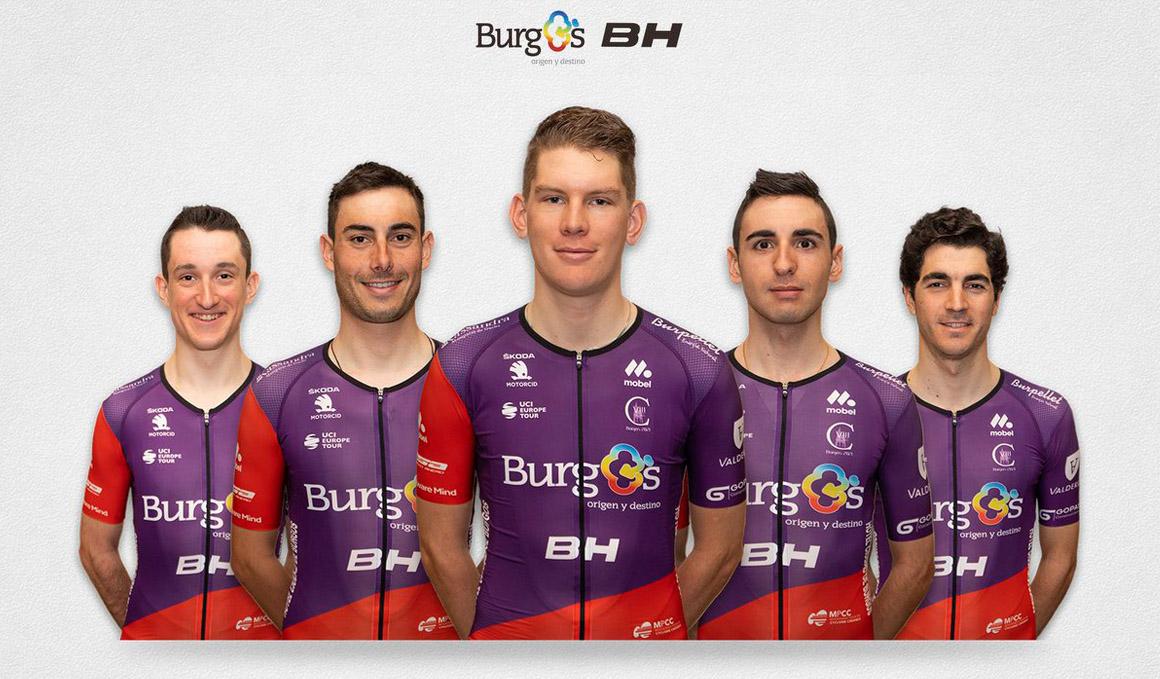 Burgos-BH, último equipo invitado a la Volta a Catalunya