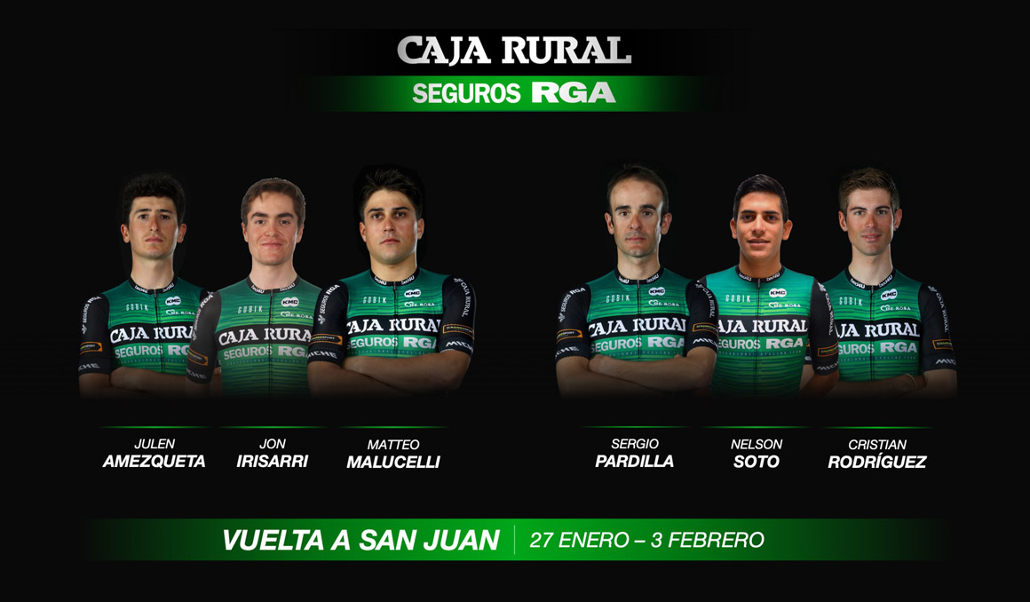 San Juán y Mallorca, primeras carreras del Caja Rural-Seguros RGA 2019