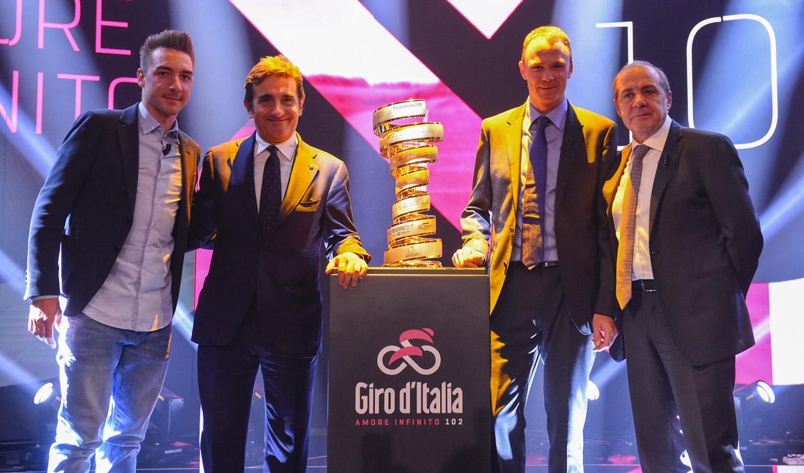RSC anuncia los equipos invitados para el Giro de Italia 2019