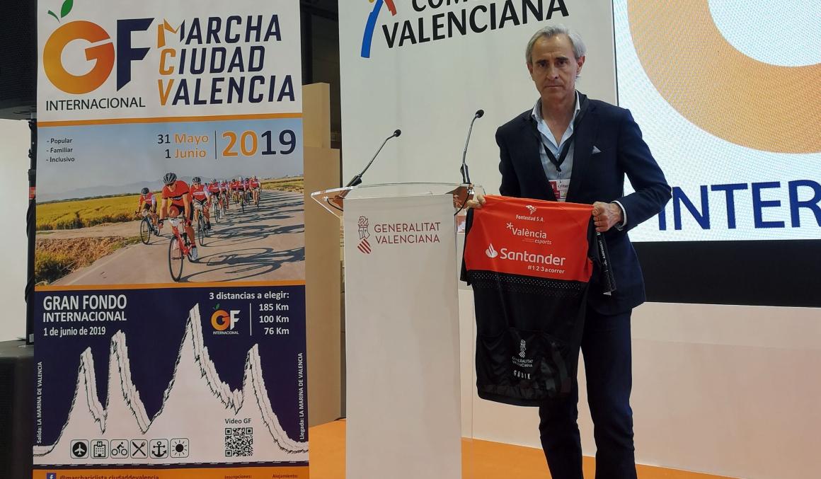 Presentado el Gran Fondo Internacional Marcha Ciudad de Valencia 2019