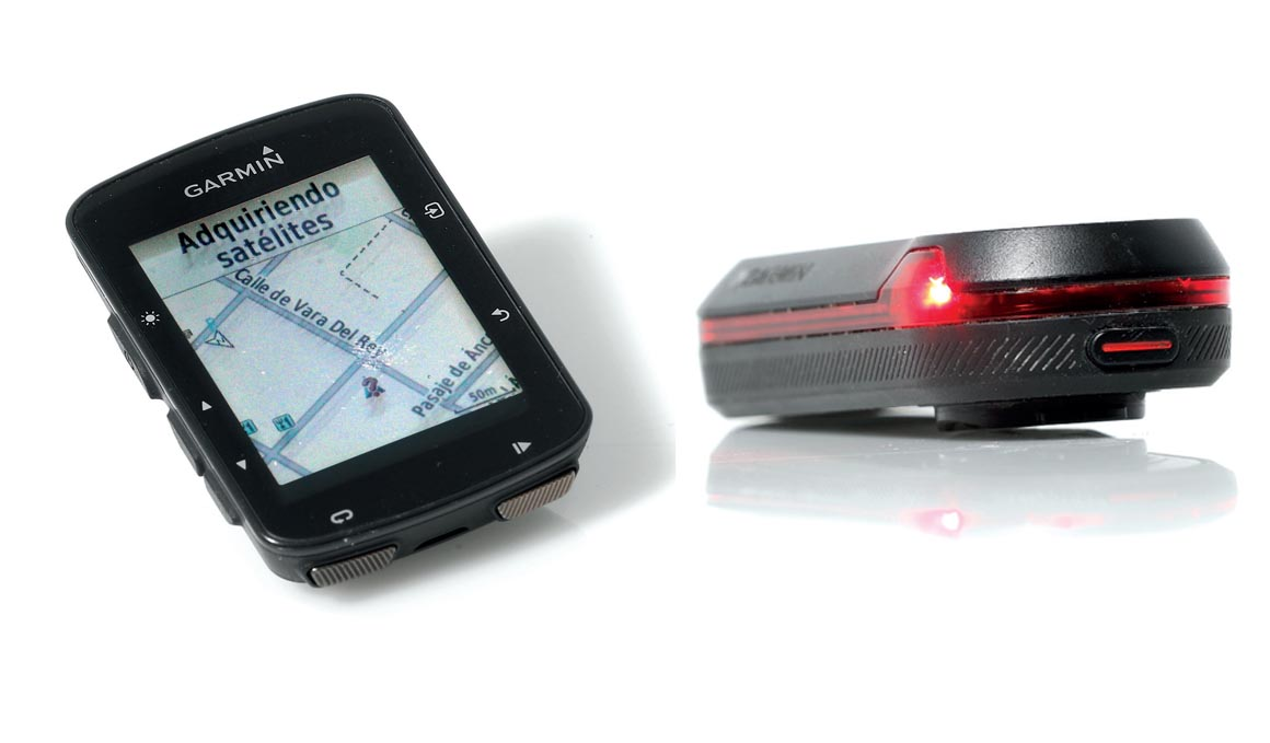 Garmin Edge 520 Plus y Radar Garmin Varia RTL510