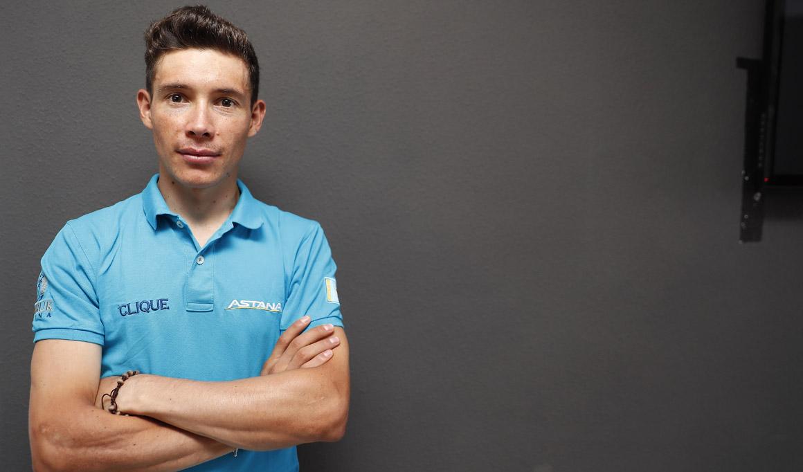 """Miguel Ángel López: """"Desde que comencé en el ciclismo me mentalicé para sobresalir"""""""