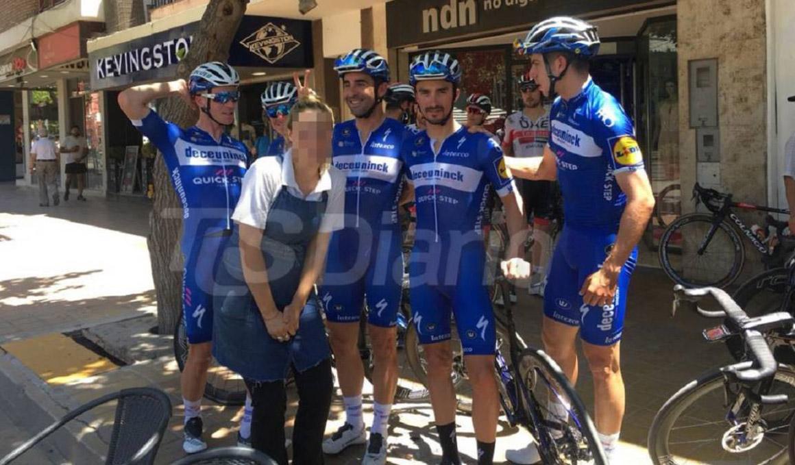 Iljo Keisse, expulsado de la Vuelta a San Juan