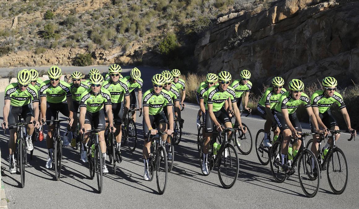 Euskadi-Murias, a empezar con buen pie en la Challenge Mallorca