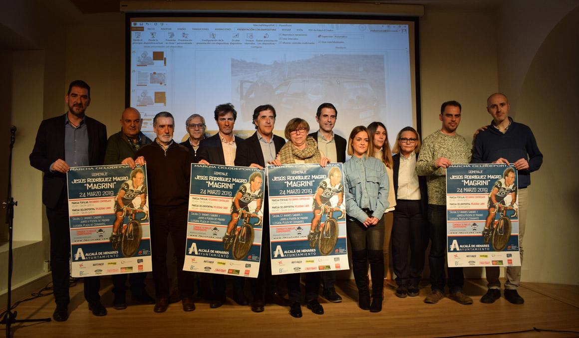Presentada la I Marcha Ciclodeportiva Homenaje a Jesús Rodríguez Magro