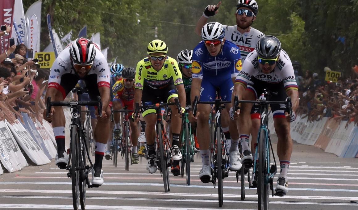 Gaviria también puede con Sagan en San Juan