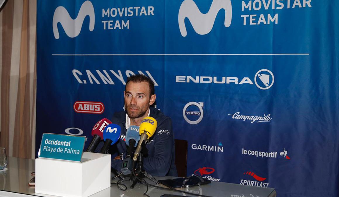 """Valverde: """"Intentaré revalidar el título de campeón del mundo en Yorkshire"""""""