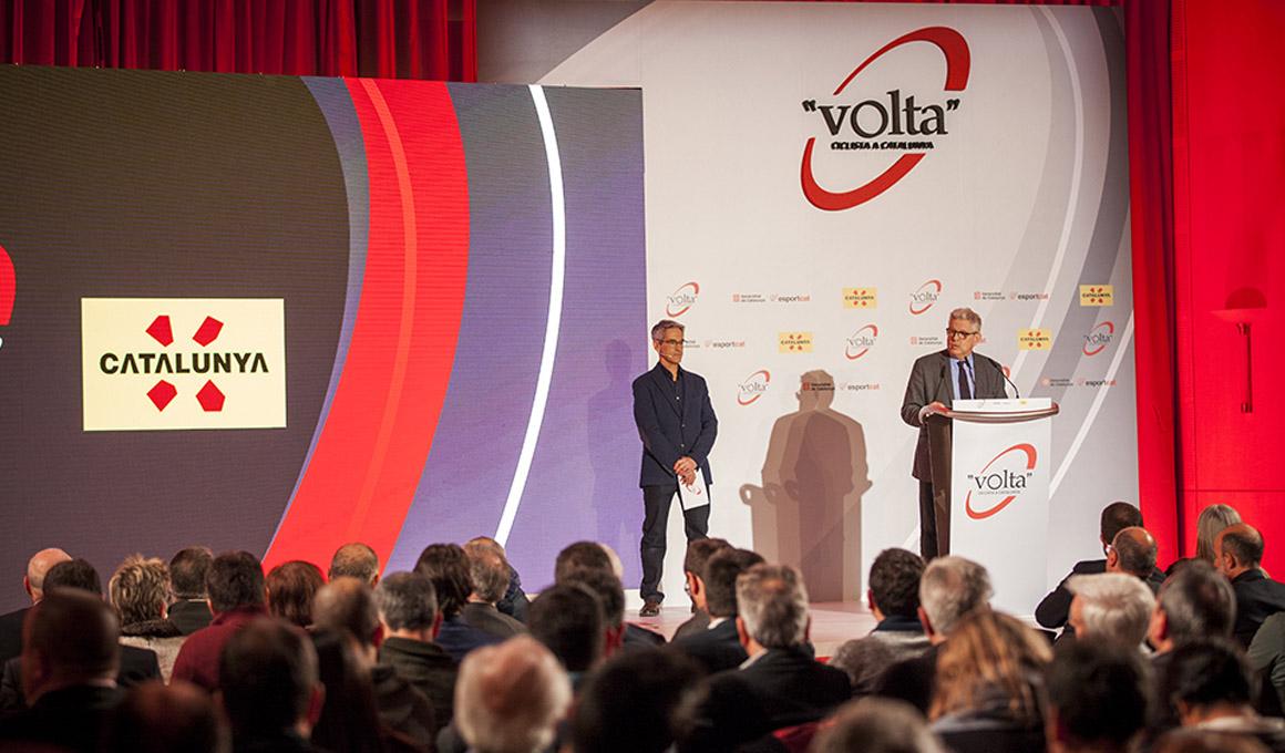Presentada la 99ª edición de la Volta Ciclista a Catalunya