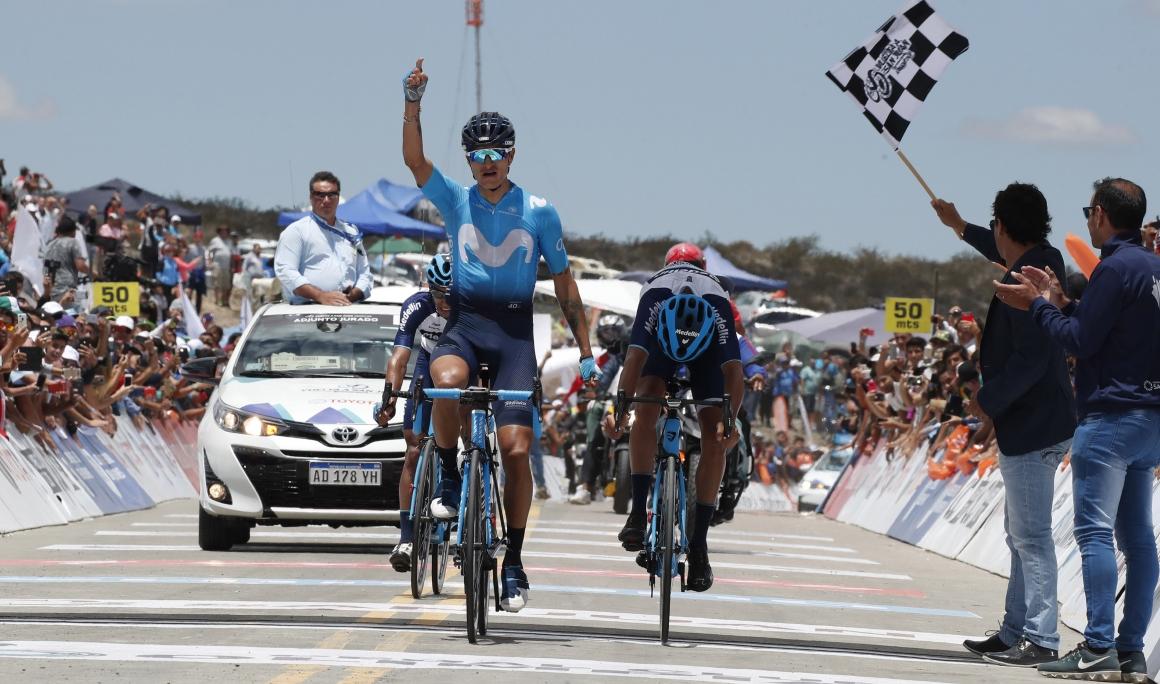 Winner Anacona asesta un golpe a la Vuelta a San Juan