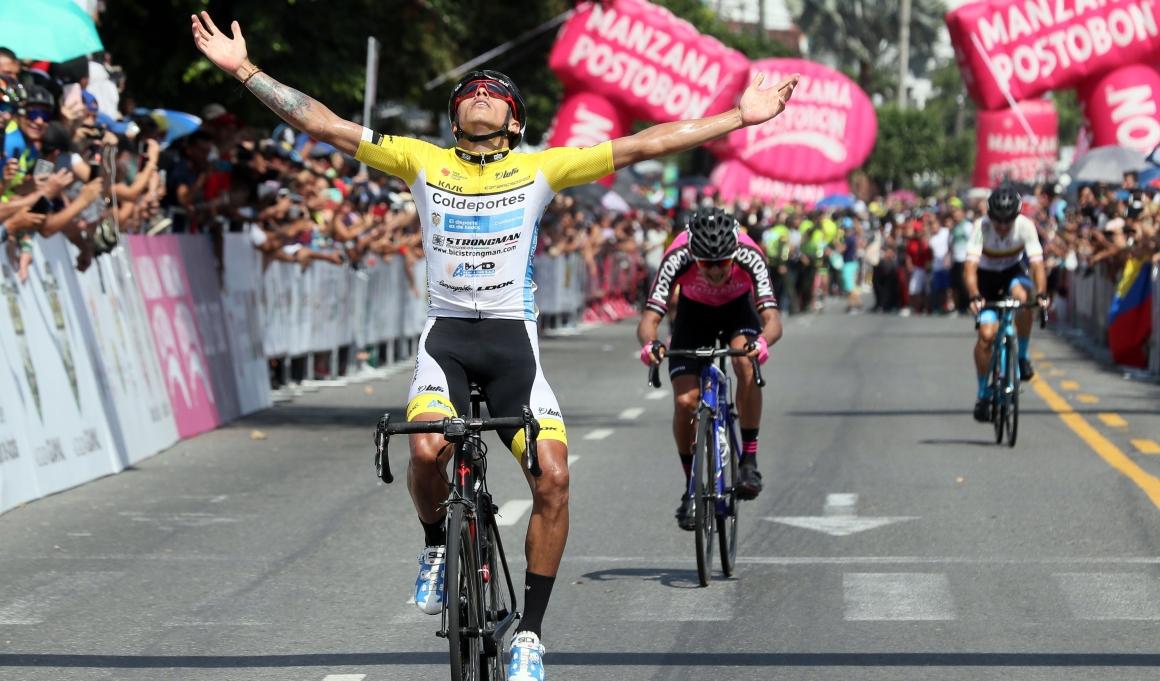 Óscar Quiroz, nuevo campeón de ruta de Colombia