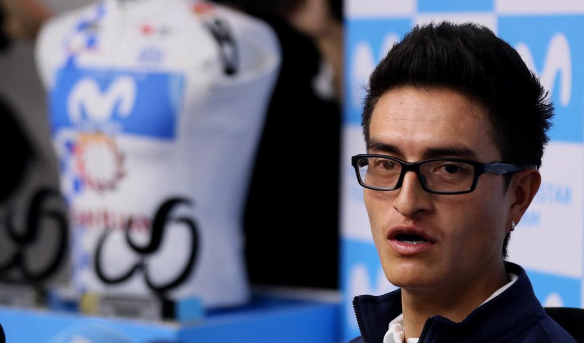 Winner Anacona apunta a disputar la próxima edición del Tour