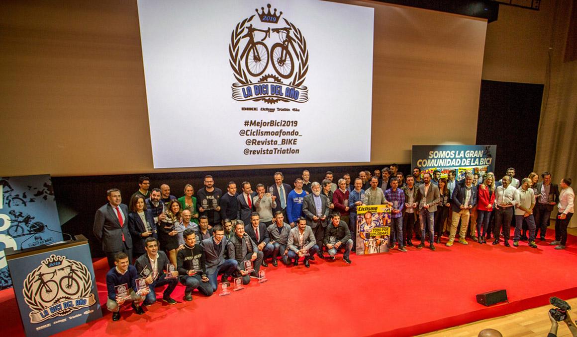 Entregados los Premios La Bici del Año 2019