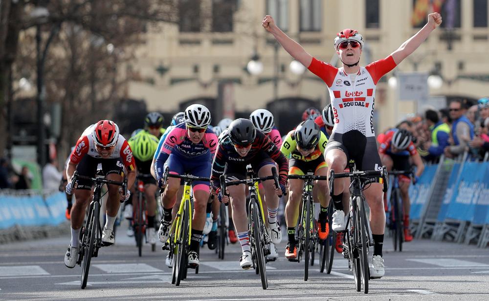 La belga Lotte Kopecky inaugura el palmarés de la Vuelta CV Féminas