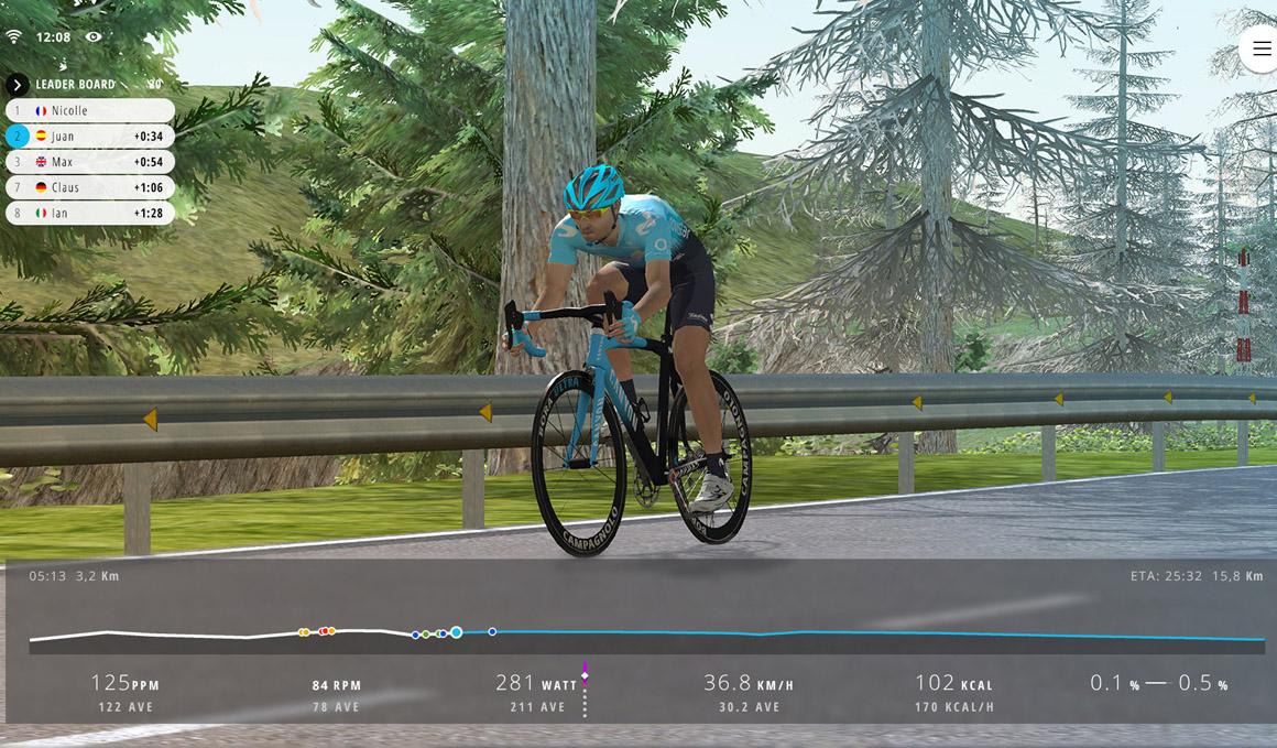 Nace Movistar Virtual Cycling, una innovadora competición de ciclismo virtual