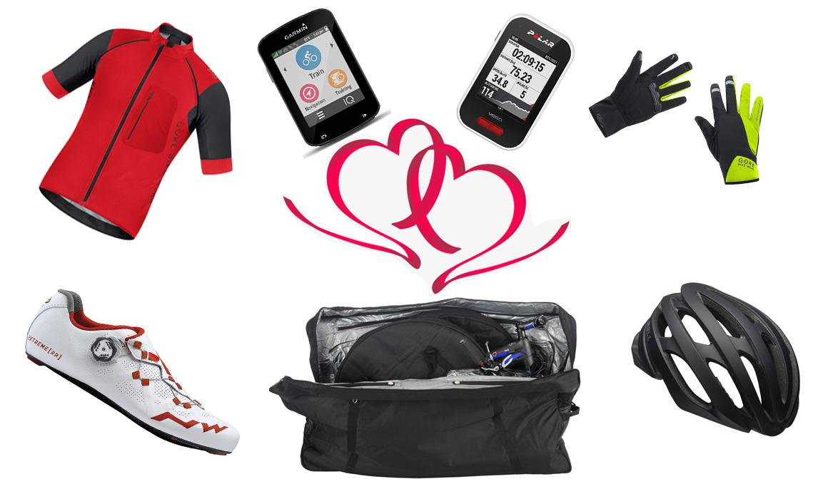 Regalos de San Valentín para tu pareja ciclista