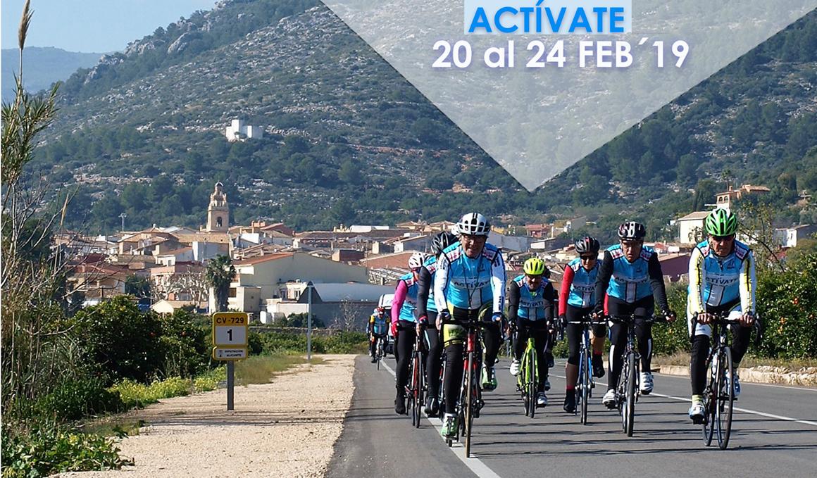 """Todo preparado para el XIV Campus de Ciclismo """"Actívate"""" Eduardo Chozas"""