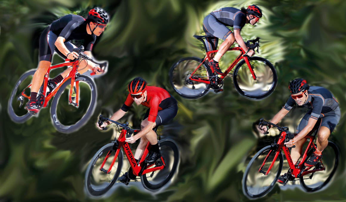 Cuatro bicis aerodinámicas españolas