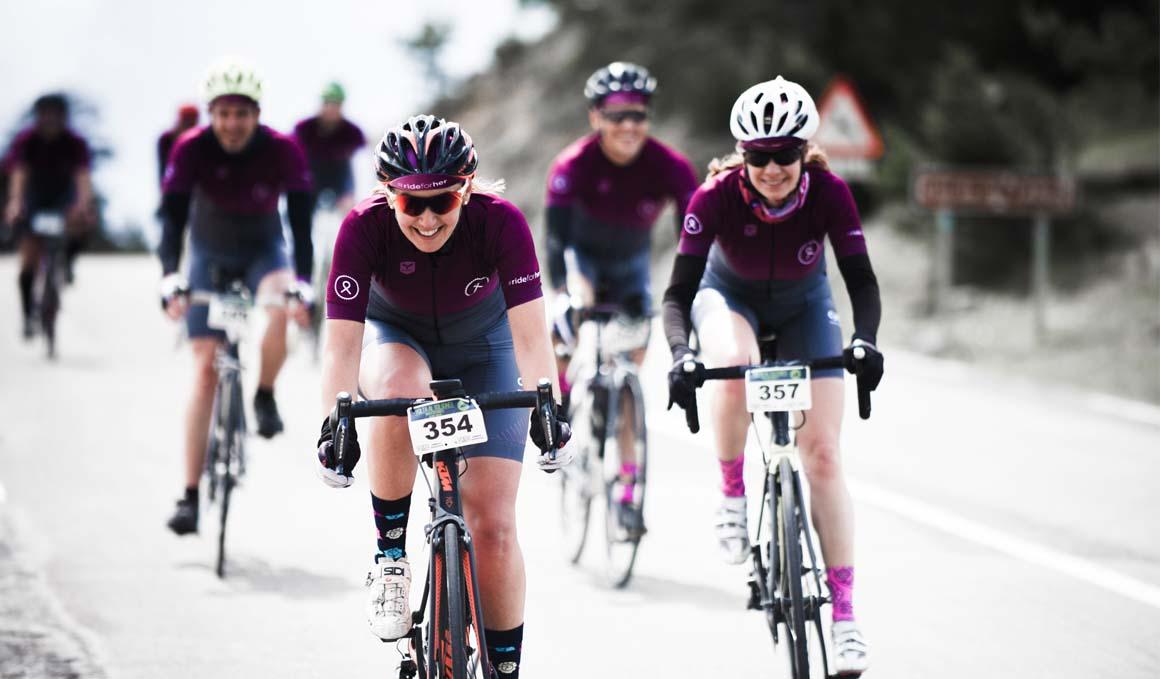 Proyecto RideForHer: solidaridad contra el cáncer a través del ciclismo