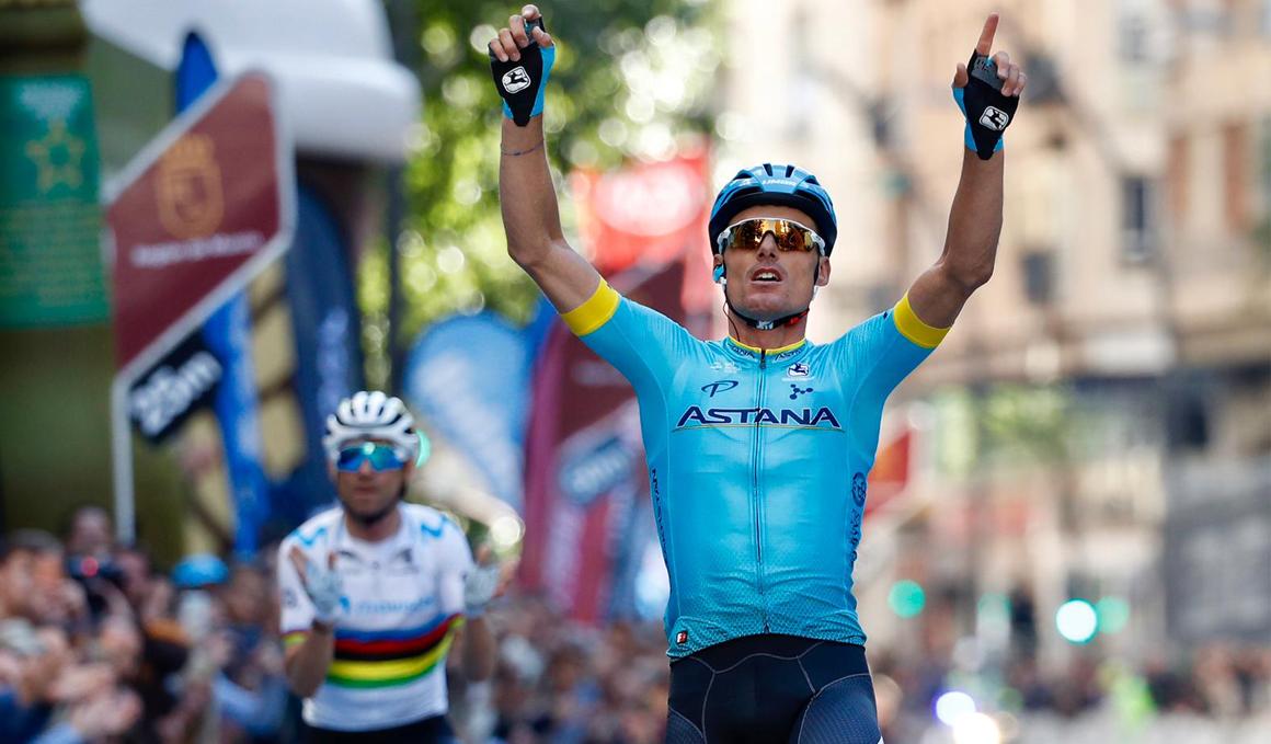 Luis León Sánchez revalida su victoria en la Vuelta a Murcia
