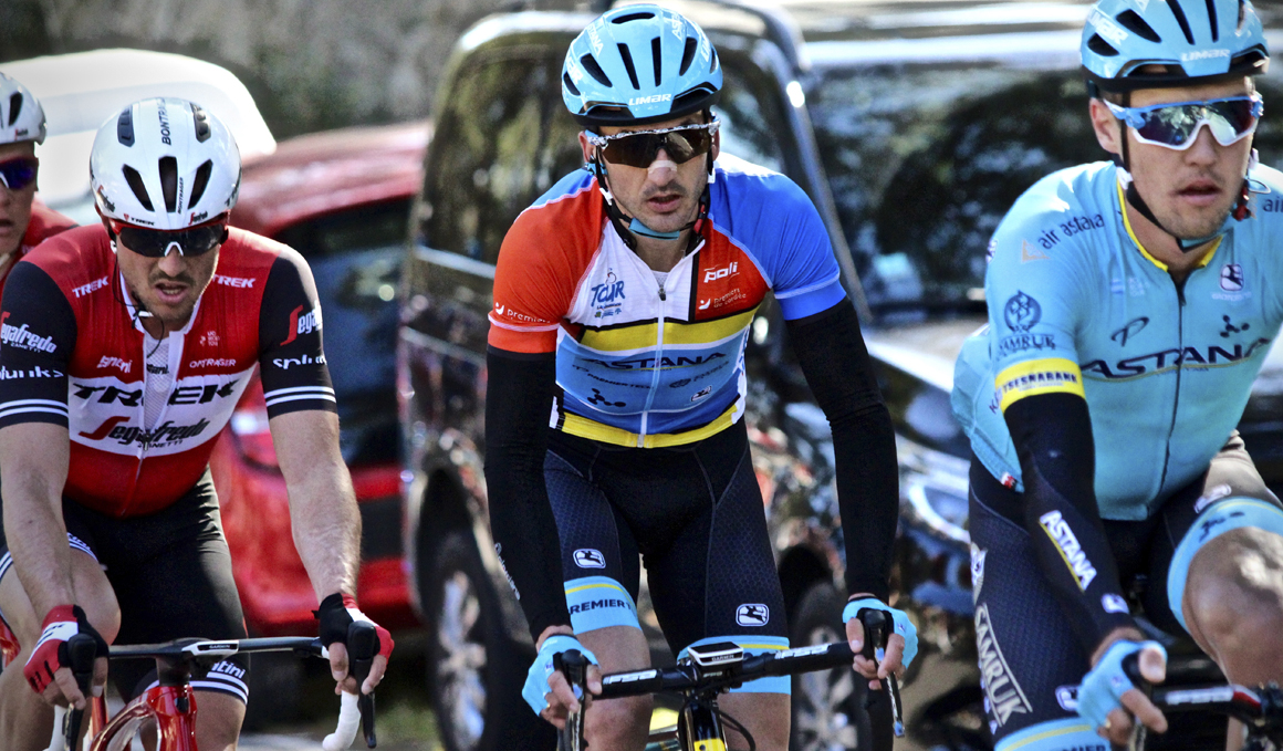 Gorka Izagirre resiste al frente del Tour de La Provence