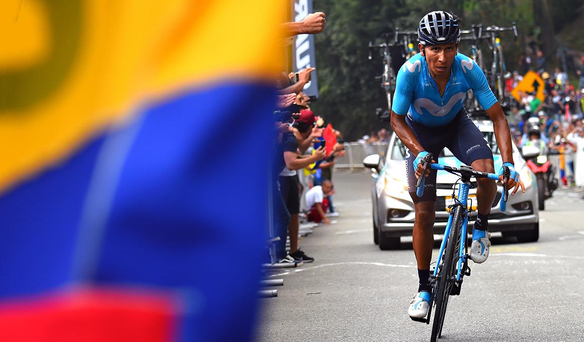 Miguel Ángel López sobrevive al gentío en Las Palmas y triunfa en el Tour Colombia 2.1.