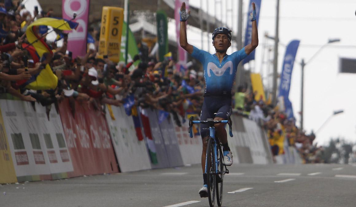 """Quintana: """"No esperaba que la carrera fuera tan dura y tan rápida"""""""