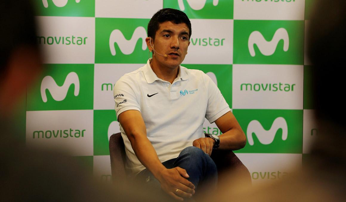 Carapaz afirma que Movistar puede confiar en él de cara al Giro